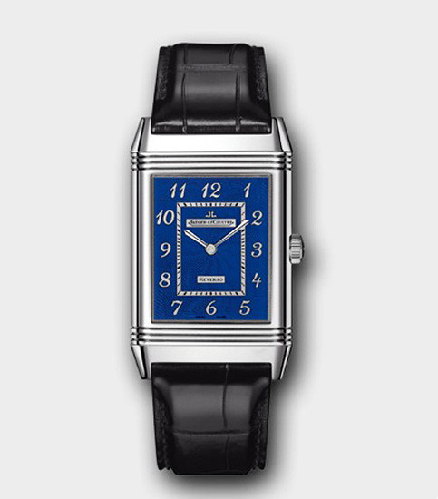 LeCoultre Grande Reverso Blue Enamel flip large blue enamel watches