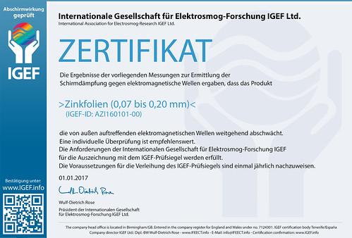 IGEF-Zertifikat-AZI-DE