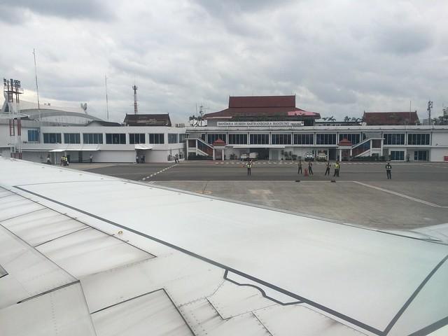 The tiny BDO airport terminal