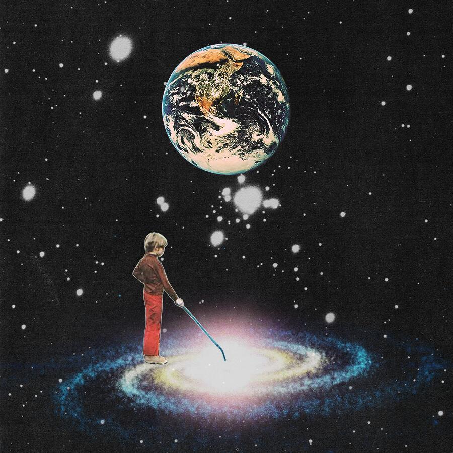 Rare Wonderful 1950s Space Art: Www.facebook.com/CollagealInfinito
