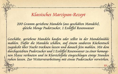 Klassisches Marzipan Rezept