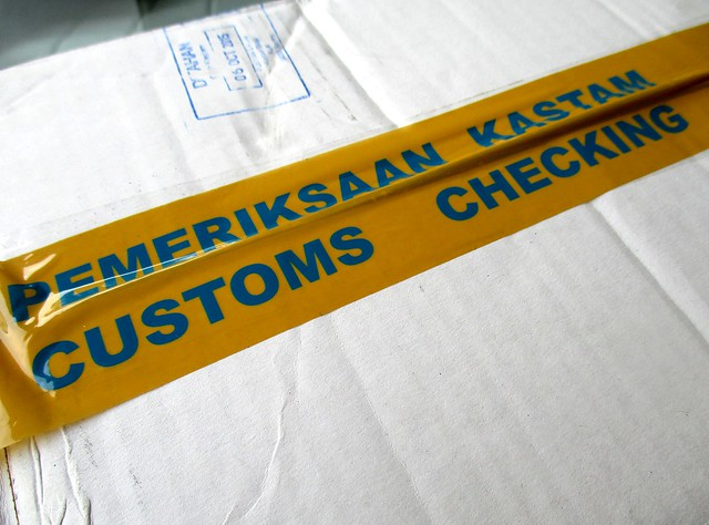 Customs checking