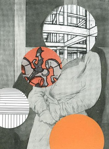 © Susanne Breuss, 10/2015, Maladie unique, Collage (13,9 x 10,1 cm) | by Susanne Breuss