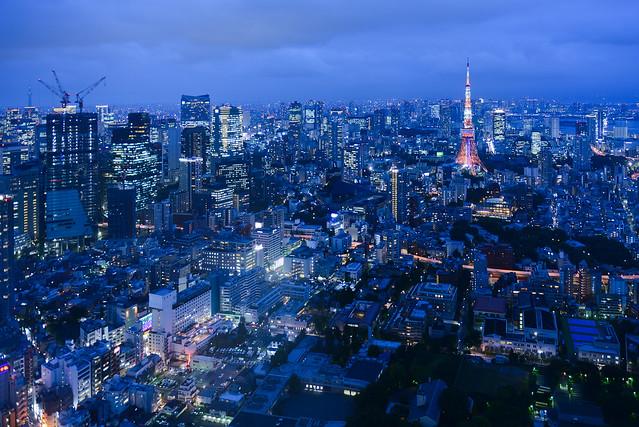 Las impresionantes vistas de Tokio desde las ventanas de la torre Mori