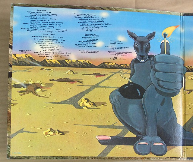 """PETER KAUKONEN BLACK Kangaroo GATEFOLD ALBUM COVER 12"""" LP VINYL"""
