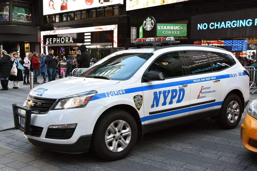 Picture Of A New NYPD 2016 Chevrolet Traverse Car # 5581-1 ...