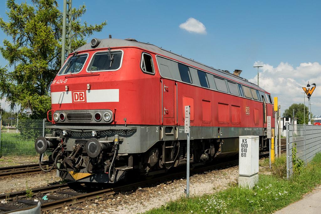 218 424 0 Db Regio Kempten 218 424 Bakes In The