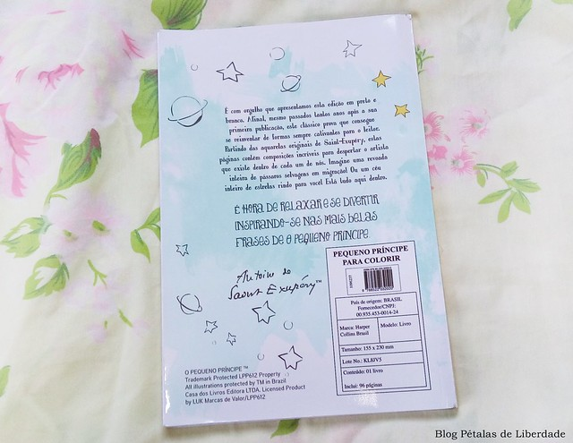 contracapa, sinopse, livro, o-pequeno-principe-para-colorir