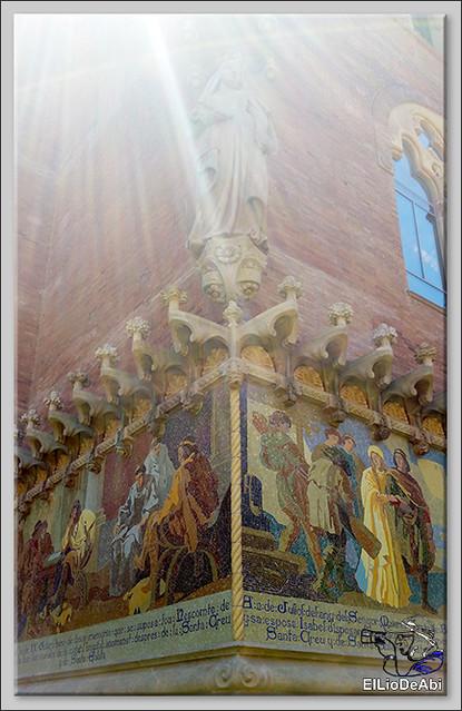 Que ver en el Recinto Modernista de la Santa Creu y Sant Pau 7