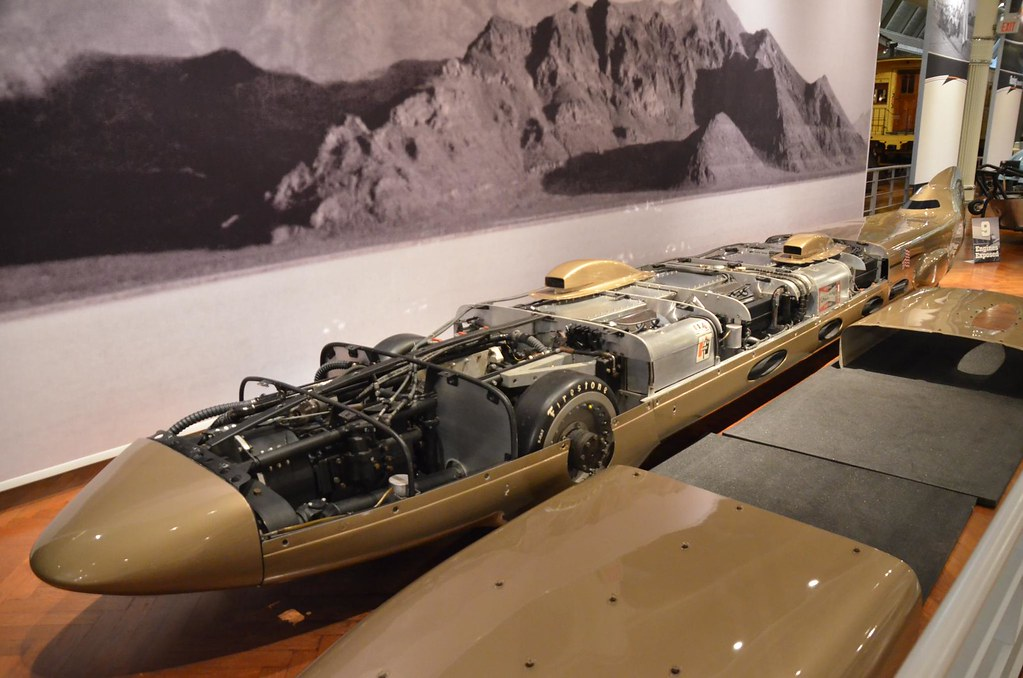 Land Speed Record >> 1965 Goldenrod Land Speed Record car - The Henry Ford - En ...