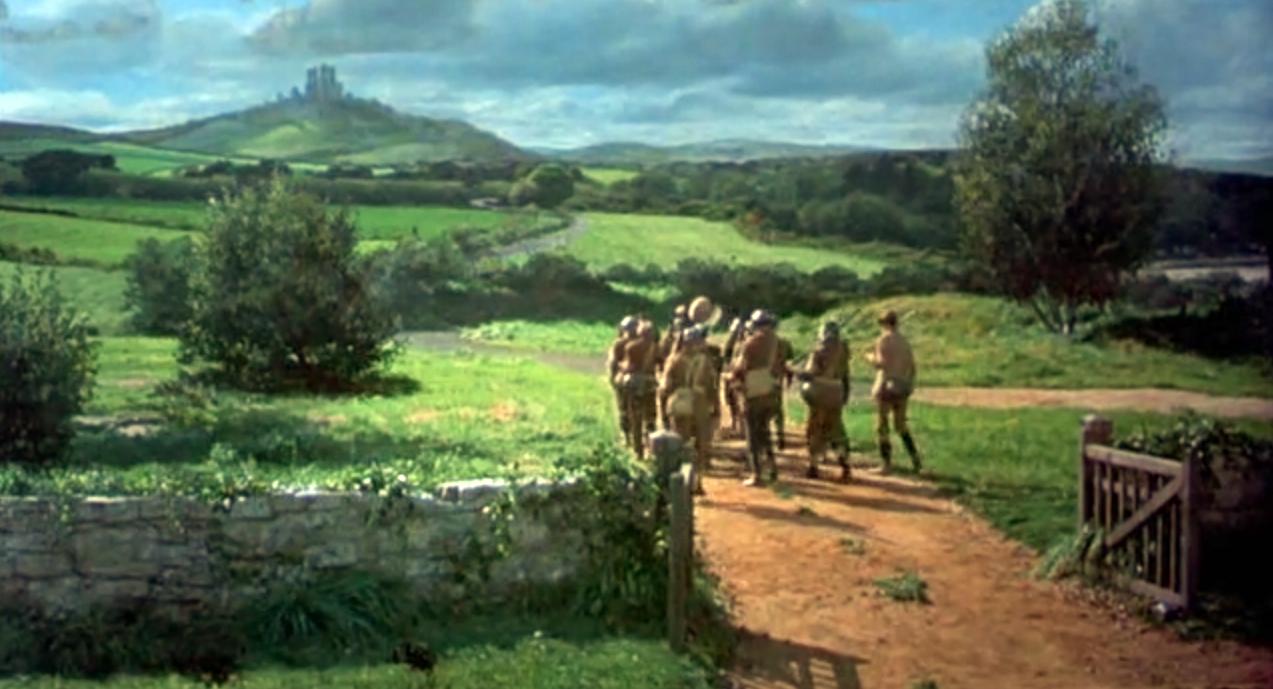"Corfe Castle - La Bruja Novata - Inglaterra castillo de corfe - 32050387793 2250efda7a o - Escenarios de ""La Bruja Novata"" – Castillo de Corfe"