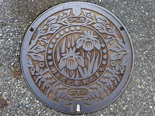Ube Yamaguchi, manhole cover 5 (山口県宇部市のマンホール5)
