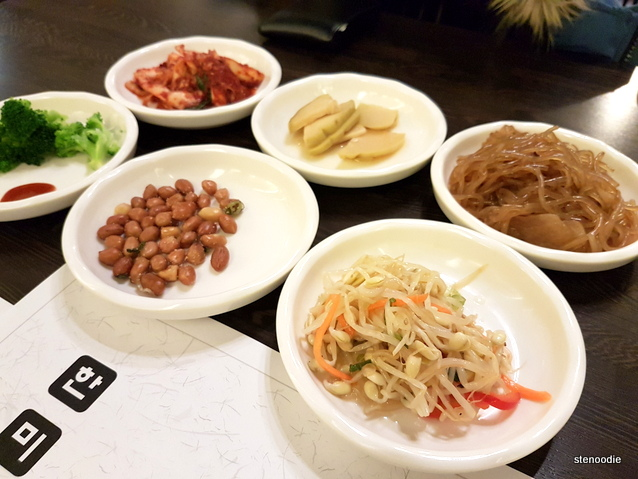 Han Mi Jeong Korean Restaurant banchan