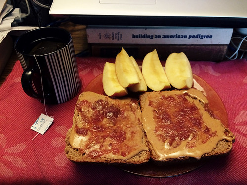 Grilled PB&J Lunch (Jan 29 2016)
