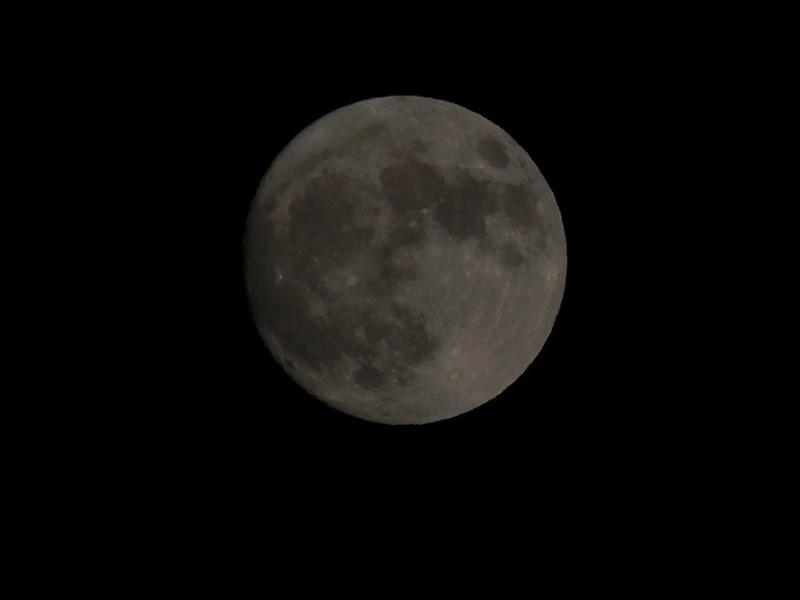Algo calavérico en la Luna