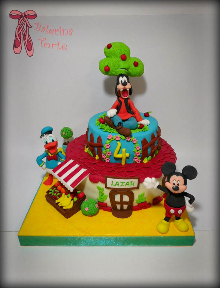 disney cake dizni junaci torta miki maus torta by bale. Black Bedroom Furniture Sets. Home Design Ideas