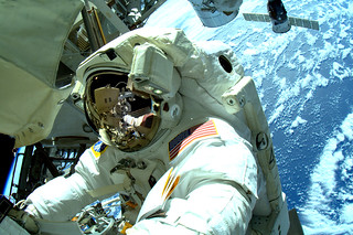 Crew Member of ISS | by NASA's Marshall Space Flight Center