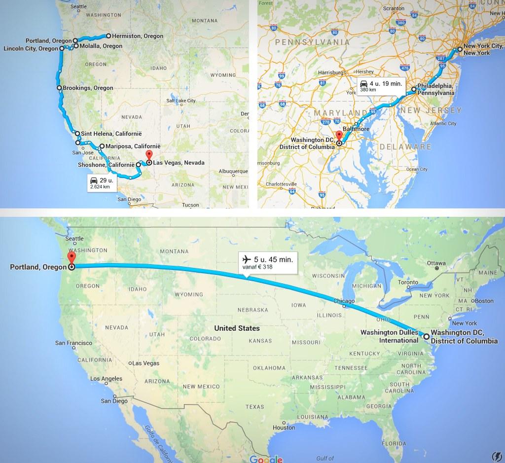 Alternative roadtrip route USA | via It's Travel O'Clock