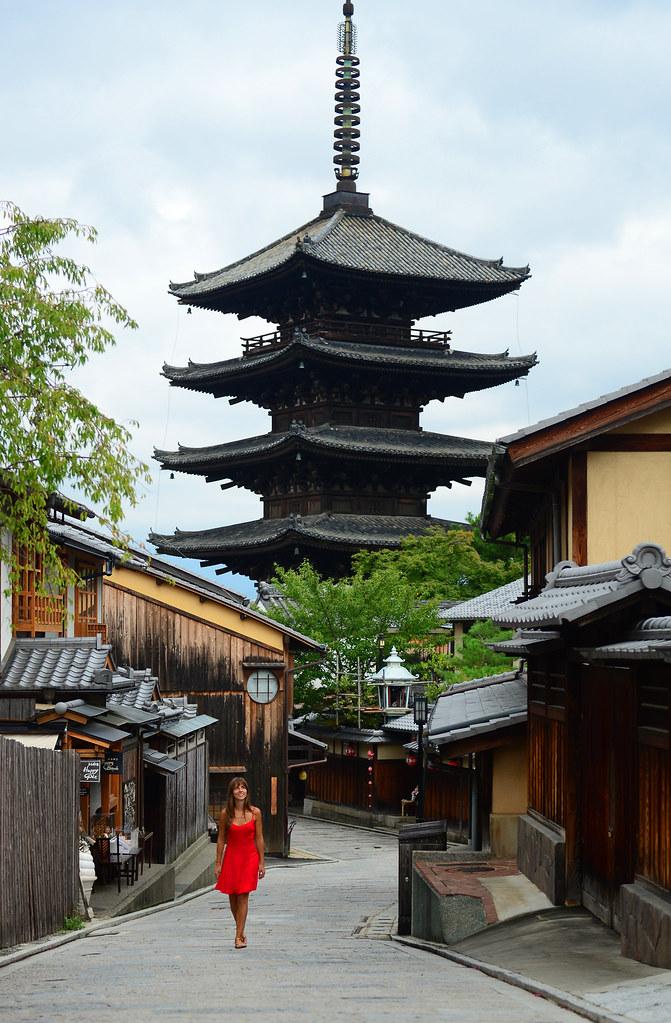Paseando por Kyoto en Japón y su barrio de Sannenzaka