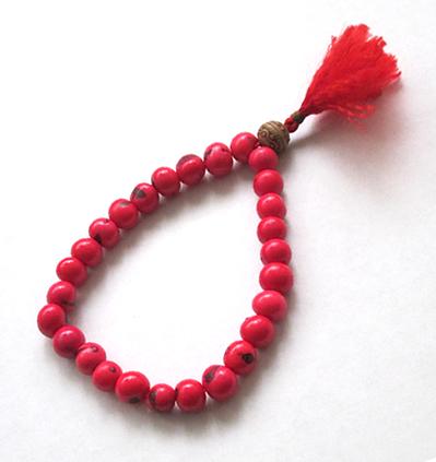 reputación primero nuevo estilo y lujo selección especial de Pulsera Japa Mala Azahí Rojo | Japa Malas Budistas Cuencos ...
