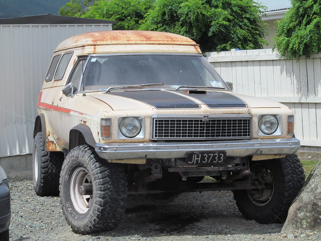 1979 Holden Belmont 4wd Panel Van Hz An Interesting
