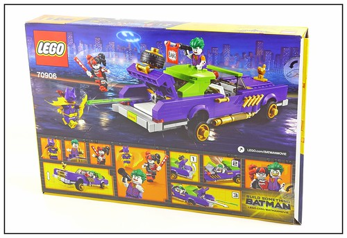 The LEGO Batman Movie 70906 The Joker Notorious Lowrider box02