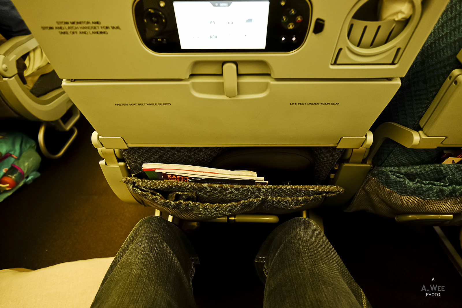 Legroom on the 77W