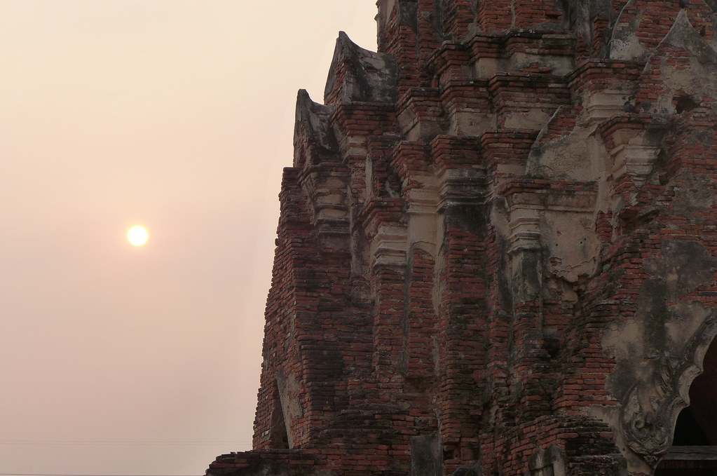 Thaïlande - Ayutthaya - 167 - Wat Chaiwatthanaram