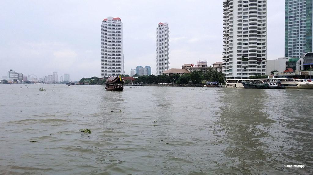 Chao Praya -joki, Bangkok, Thaimaa
