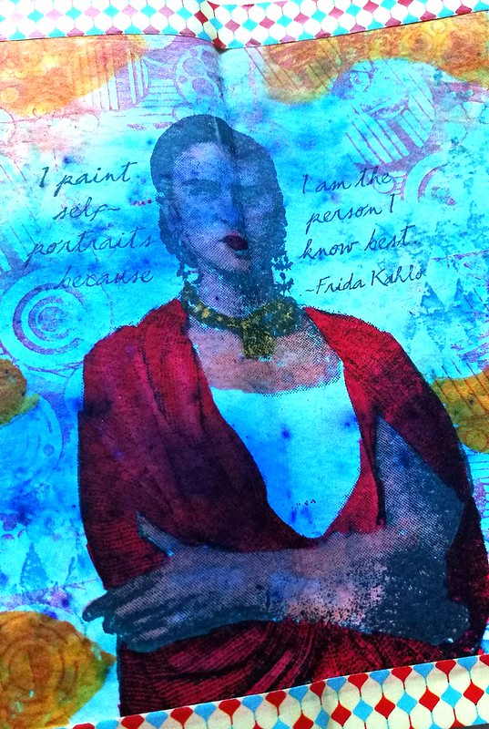 Art journal Frida