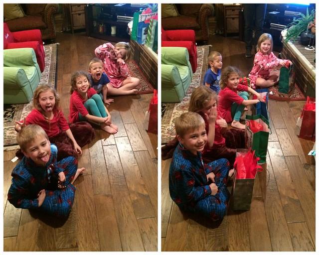 School Christmas Party's and Kiki's 201429