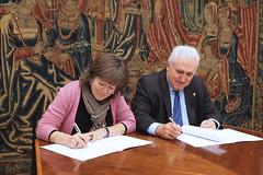 23/02/2017 - Firma de convenio de colaboración entre Deusto y Alboan para fortalecer su alianza estratégica por la Justicia Social