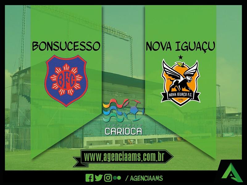 Bonsucesso 2x5 Nova Iguaçu / 24/01/2017
