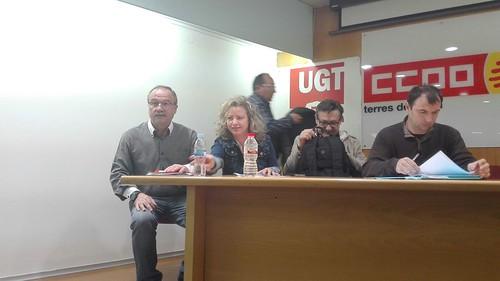 Asamblea en Lleida del sector de mataderos
