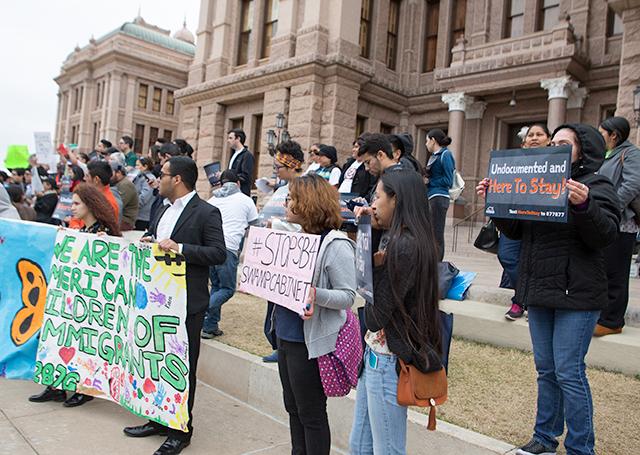 SB4 Protest (Texas Capital)