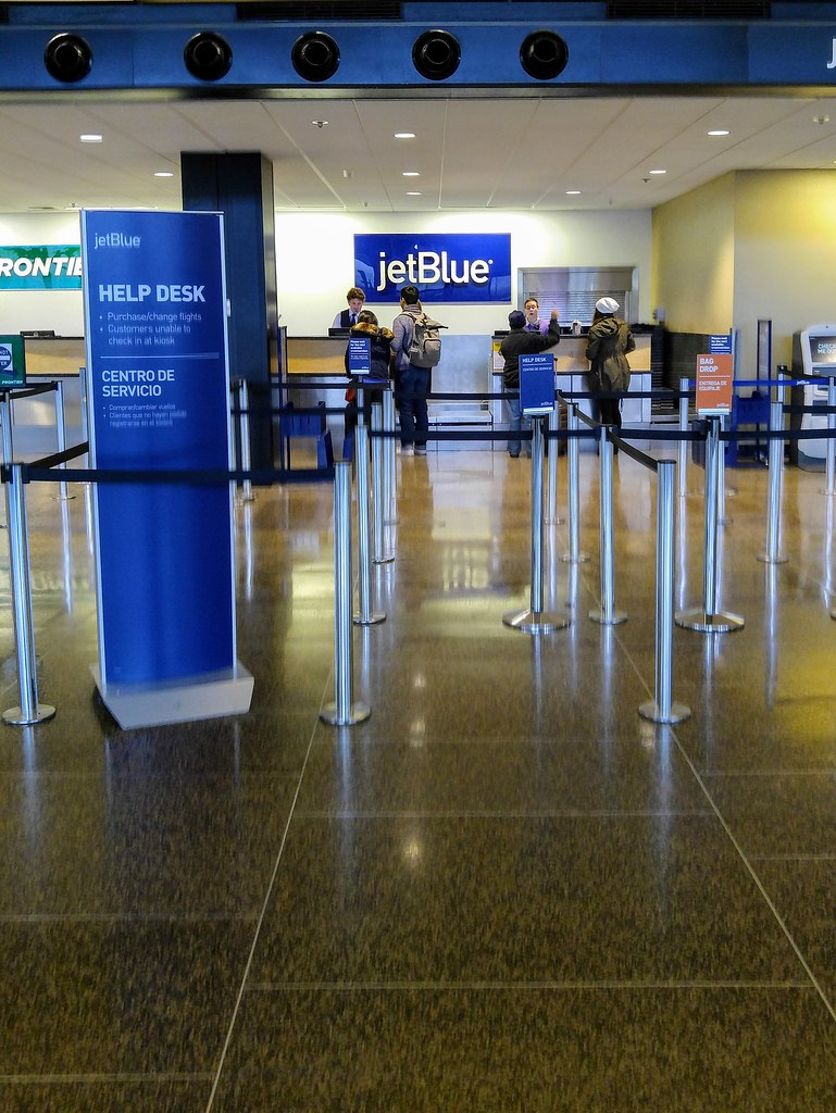 JetBlue Ticket Counter at SEA