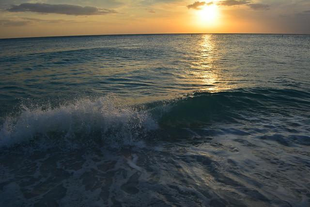 Manatee Beach Sunset