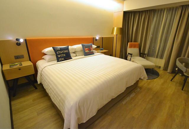 hotel jen penang club deluxe room