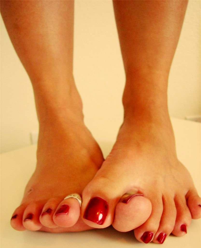 Diamond White Toes