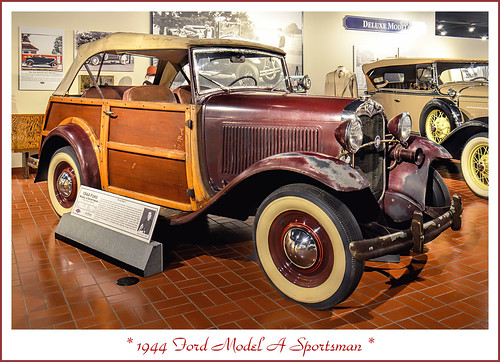 What Model Is My Car >> 1944 Ford Model A Sportsman - the Last Model A   Visit to th…   Flickr