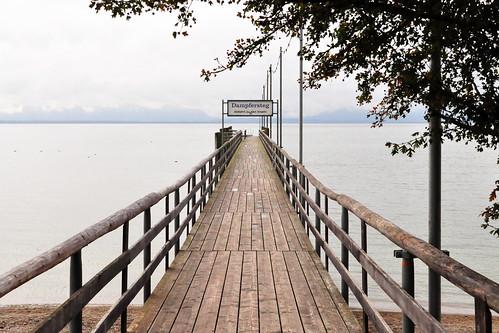 Seebruck Chiemsee Dampfersteg Foto Brigitte Stolle Oktober 2015
