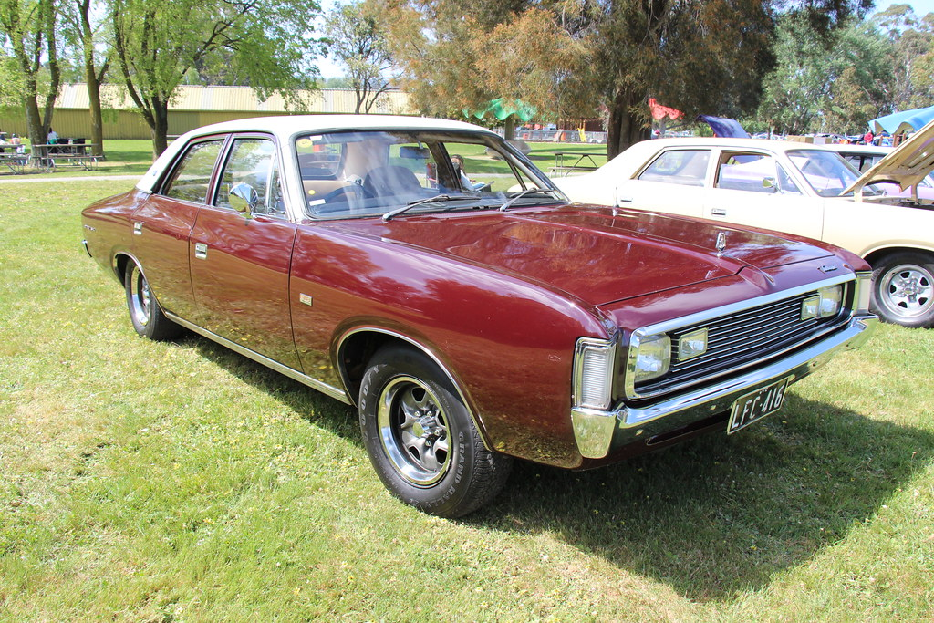 1971 Chrysler Valiant Regal 770 Sedan Deep Maroon The