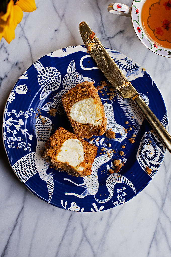 Orange Ginger Cream Cheese Muffins by @cindyr