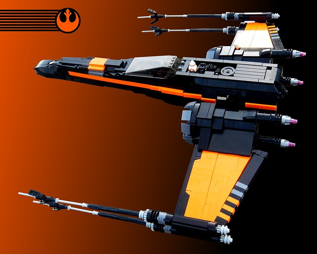 UCS Black X-wing, by goatman461, on Eurobricks