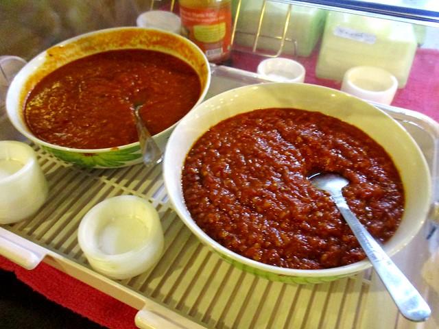 Self service sambal