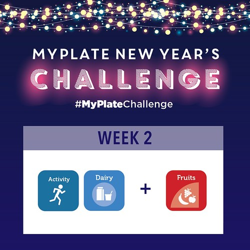 MyPlate New Year's Challenge Week 2 graphic