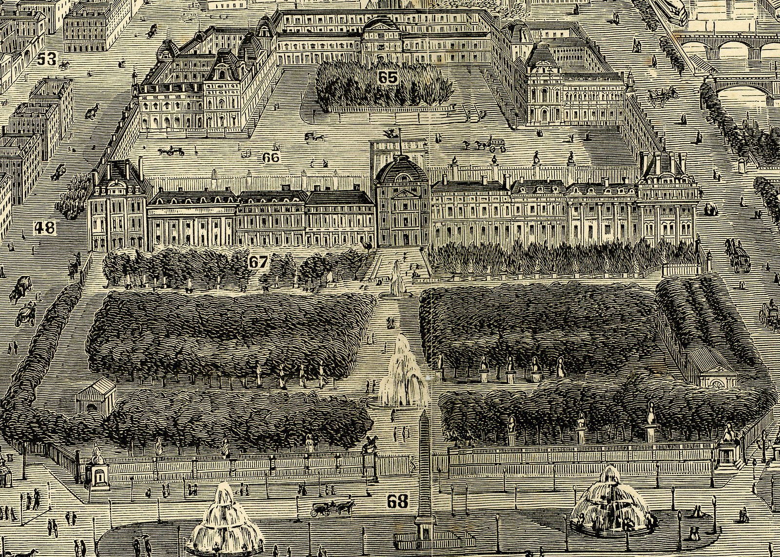 City of Paris - Louvre Crop