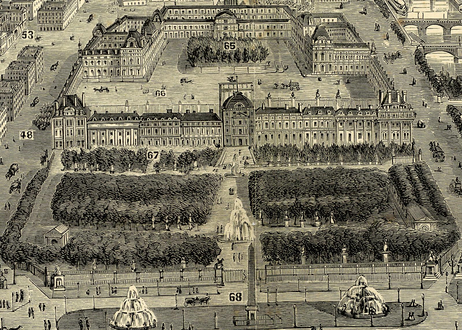 City of Paris - Louvre Crop