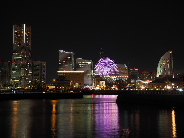 Yokohama City Night at Christmas Eve 2016 (31)