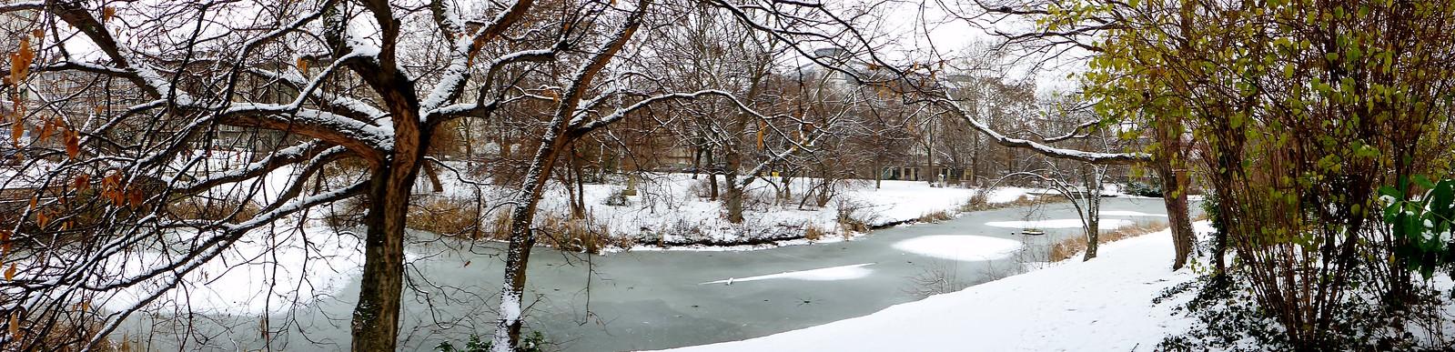 2.1.2017 - Schnee in Leipzig